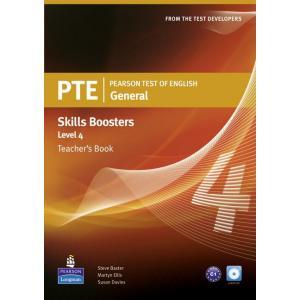 PTE General Skills Booster 4. Książka Nauczyciela + CD