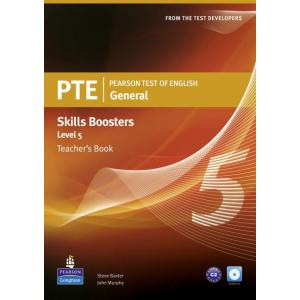 PTE General Skills Booster 5 TB +CD Audio