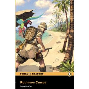 Robinson Crusoe + MP3.   Penguin Readers