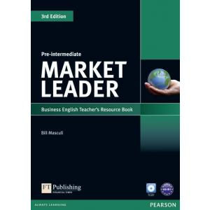 Market Leader 3Ed Pre-Intermediate. Teacher's Resource Book + Test Master CD-ROM