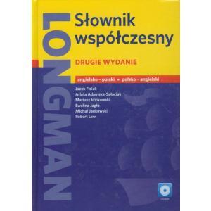 LONGMAN Słownik Współczesny Angielsko-Polsko-Angielski + CD. Drugie Wydanie. Oprawa Twarda
