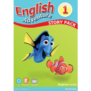 English Adventure 1. Story Cards Beginner Pack