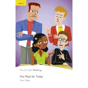 Five Plays for Today + MP3. Pearson English Readers