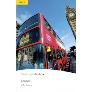 London + MP3.  Pearson English Readers