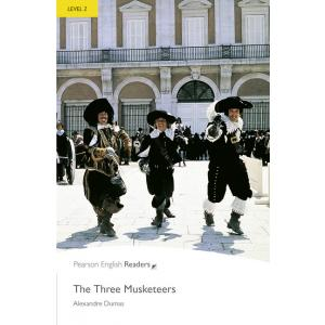 The Three Musketeers + CD. Pearson English Readers