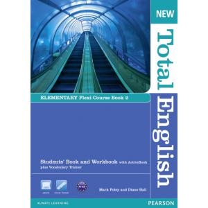 New Total English Elementary.    Flexi Course Book 2