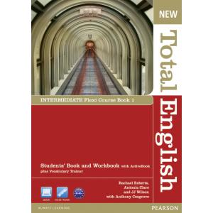 New Total English Intermediate.   Flexi Course Book 1