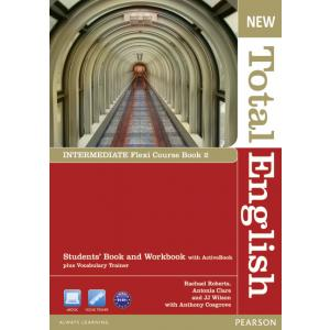 New Total English Intermediate.   Flexi Course Book 2