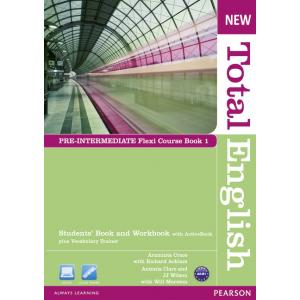 New Total English Pre-Intermediate.   Flexi Course Book 1