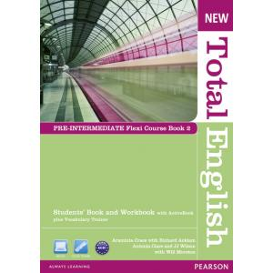 New Total English Pre-Intermediate.   Flexi Course Book 2