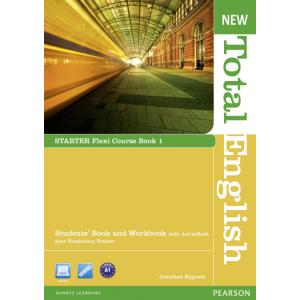 New Total English Starter.   Flexi Course Book 1