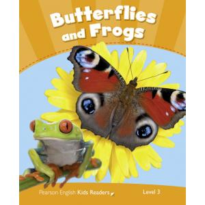 Butterflies and Frogs. Penguin Kids. Poziom 3