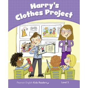 Harry's Clothes Project. Penguin Kids. Poziom 5