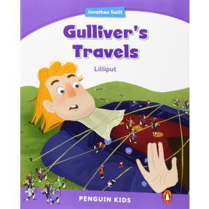 Gullivers Travels. Lilliput. Penguin Kids. Poziom 5