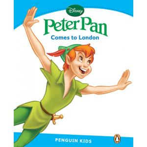 Peter Pan Comes to London. Penguin Kids. Poziom 1