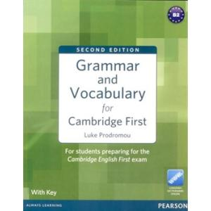Grammar and Vocabulary for Cambridge First. Podręcznik z Kluczem