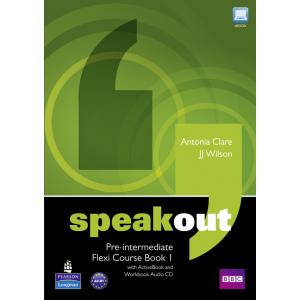 Speakout Pre-Intermediate.   Flexi Course Book 1