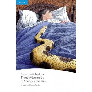 Three Adventures of Sherlock Holmes + MP3. Pearson English Readers