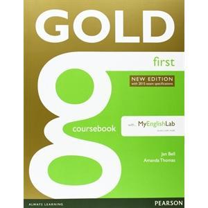 Gold First. Podręcznik + MyEnglishLab