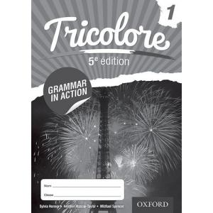 Tricolore 5e édition 1 Grammar in Action Workbook (pack of 8)