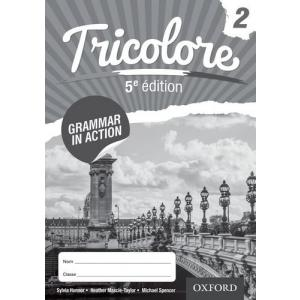 Tricolore 5e édition 2 Grammar in Action Workbook (pack of 8)