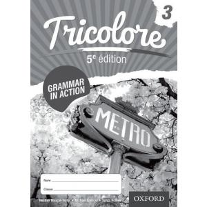 Tricolore 5e édition 3 Grammar in Action Workbook (pack of 8)