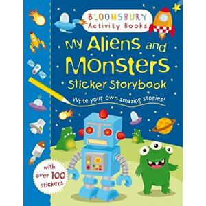 My Aliens and Monsters Sticker Storybook