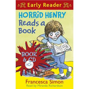 Horrid Henry Reads a Book (Book/CD)