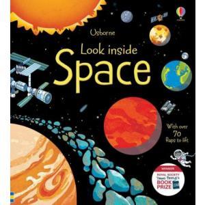 Look inside Space /książeczka z okienkami/