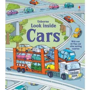 Look inside cars /książeczka z okienkami/