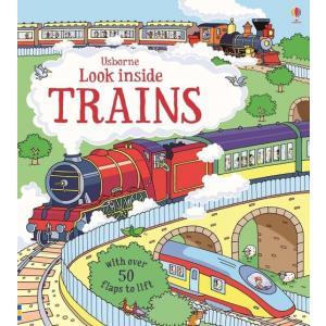 Look Inside Trains /książeczka z okienkami/