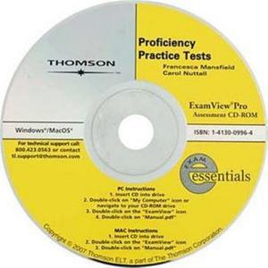 Exam Essentials:Proficiency Practice Tests Assesment CD-ROM