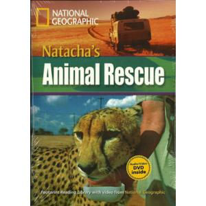 Natacha's Animal Rescue + CD. Footprint Reading Library