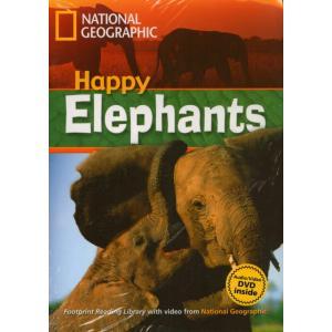 Happy Elephants + CD. Footprint Reading Library