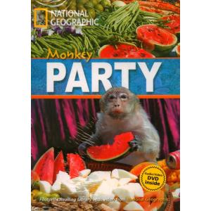 Monkey Party + CD. Footprint Reading Library