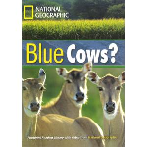 Blue Cows? + CD. Footprint Reading Library