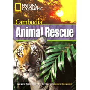 Cambodia Animal Rescue + CD. Footprint Reading Library