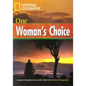 One Woman's Choice + CD. Footprint Reading Library