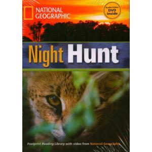 Night Hunt + CD. Footprint Reading Library