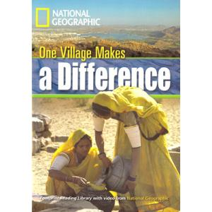 One Village Makes a Difference + CD. Footprint Reading Library