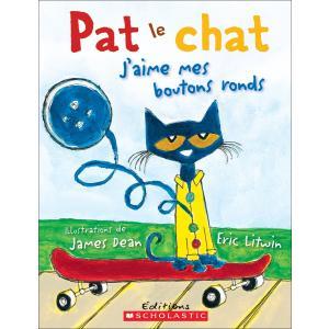 Pat Le Chat: j'Aime Mes Boutons Ronds