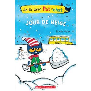 Je Lis Avec Pat Le Chat: Jour de Neige