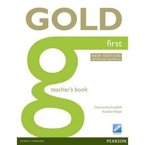 Gold First. Książka Nauczyciela