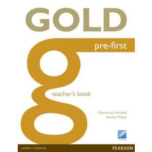 Gold Pre-First. Książka Nauczyciela