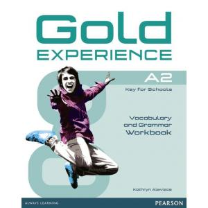 Gold Experience A2. Vocabulary and Grammar Workbook