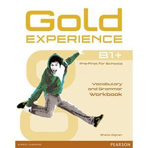 Gold Experience B1+. Vocabulary and Grammar Workbook