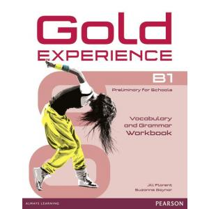 Gold Experience B1. Vocabulary and Grammar Workbook