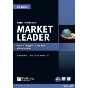 Market Leader 3ed Upper Intermediate. Podręcznik + DVD + MyEnglishLab