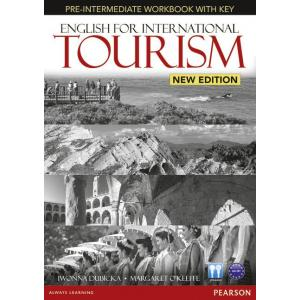 English for International Tourism Pre-Intermediate. Ćwiczenia + Klucz + CD
