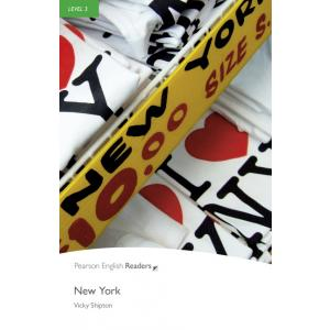 New York + MP3. Pearson English Readers